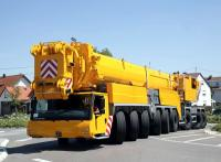 All terrain cranes Demag, Faun, Grove, Krupp, Liebherr, Terex with capacity from 20 up to 1200 ton