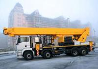Montage cranes MKG, Hiab on chassis of lorries.